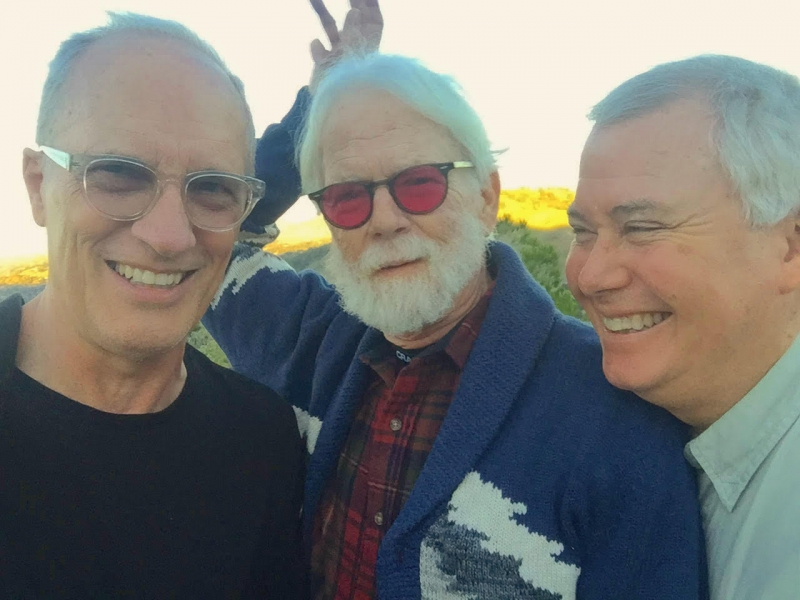 Geoffrey with Steve Fishell and Mark Reckard