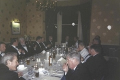 "Geoffrey attending ""Burns Night""—the annual celebration of Robert Burns, to commemorate his birthdate, 1:25:1759"